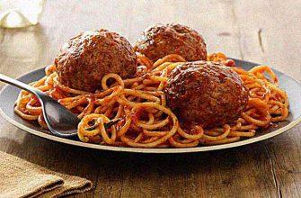 Мясные тефтели по-итальянски