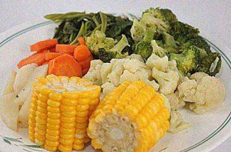 Овощи с острой заправкой
